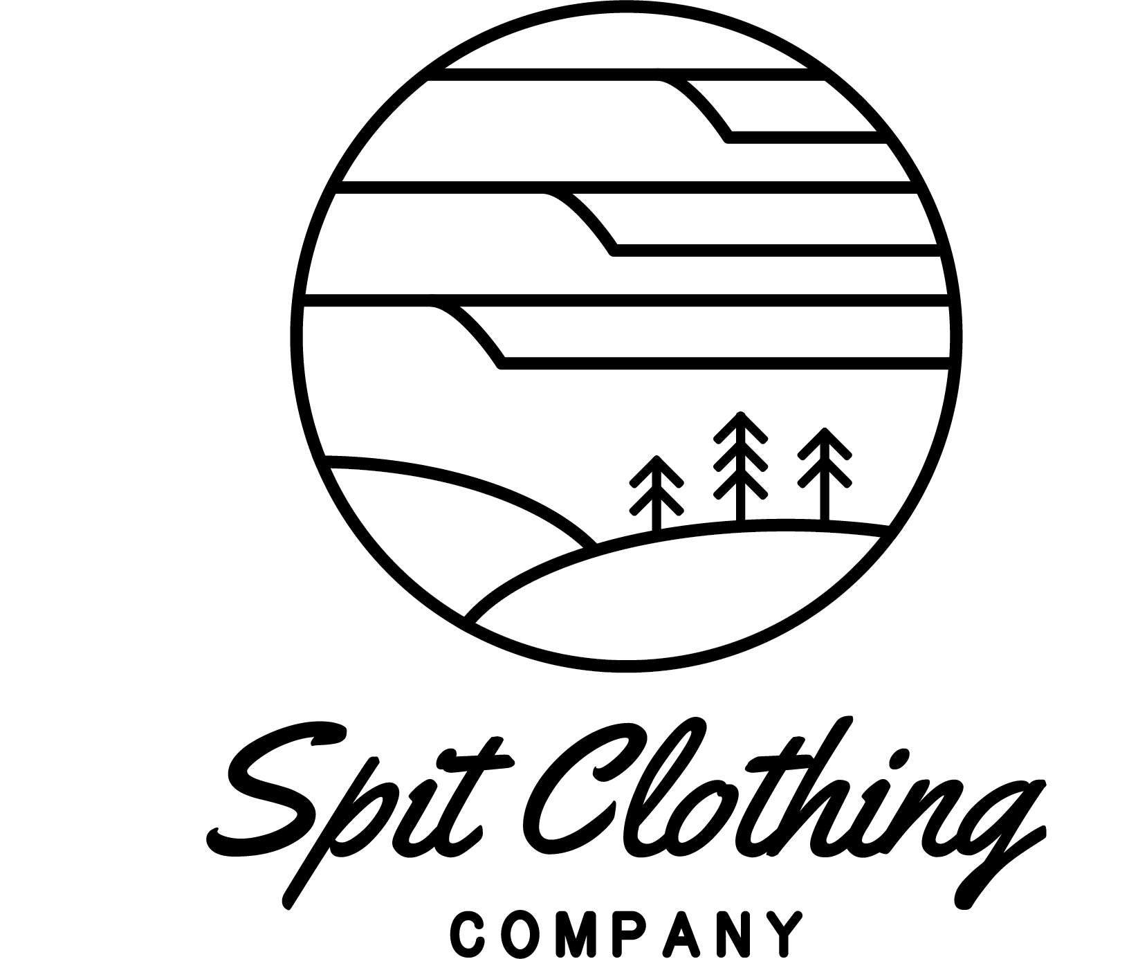 Spit Clothing Vector Illustration